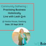 Leah's hestia experiences