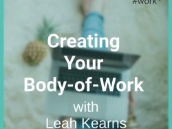 creating your body of work