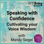 product banner - 2. Cultivating your voice wisdom
